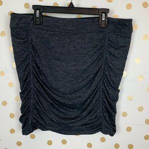 Athleta Twisted Ruched Mini Skirt